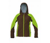dámská bunda z lehkého softshellu s kapucí barevně a designově laděná ke  kolekci Yowie projmutý střih dokonale chrání proti větru vhodná jak na  běžné nošení ... 42e42804e5
