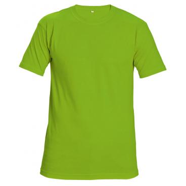 d1ab80a881cc TEESTA FLUORESCENT tričko pro práci a volný čas reflexní 160g ...
