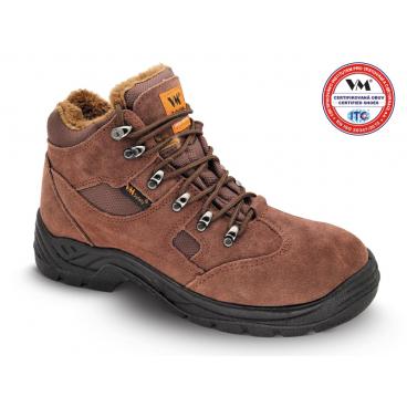 3170-O1W SAN MARINO - pracovní obuv kotníková – kožená v kombinaci s  textilem - zimní 87929d6339d