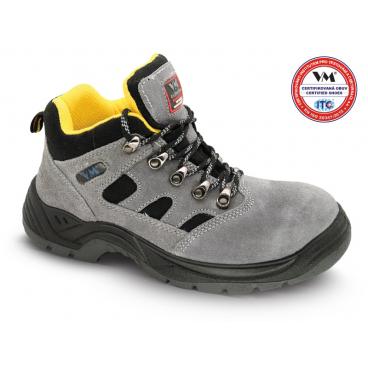 2990-O1 MADRID kotníková pracovní obuv - kožená v kombinaci s textilem 59f315040d